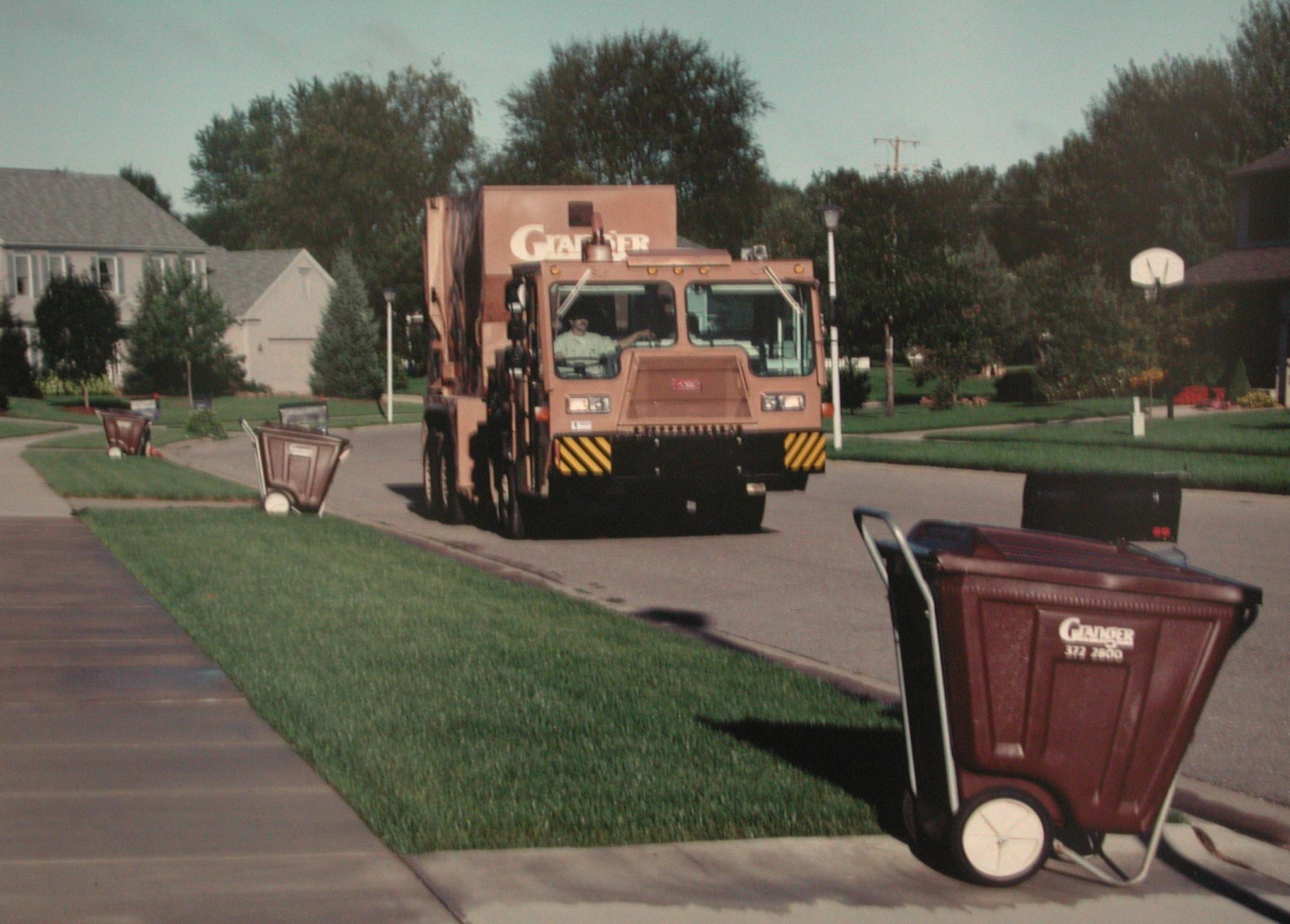 Granger garbage truck