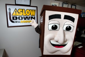 June is National Safety Month: Slow Down to Get Around