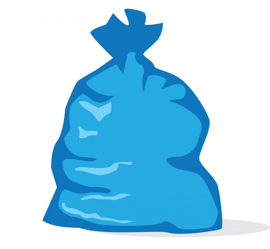 blue bag recycling
