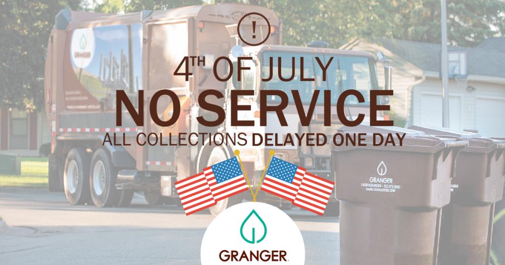 4TH OF JULY NO SERVICE FB Ad