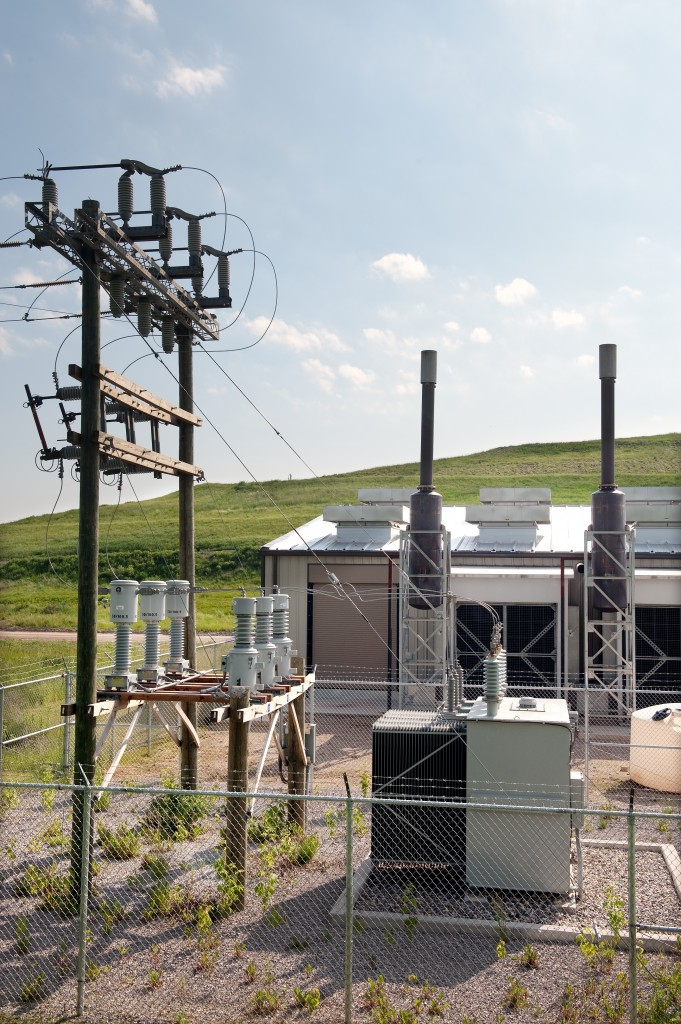 A transformer at Granger's South Kent Generating Station, located in Byron Center, Mich.