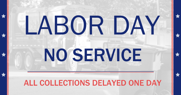 Labor Day Holiday Closures & Delays