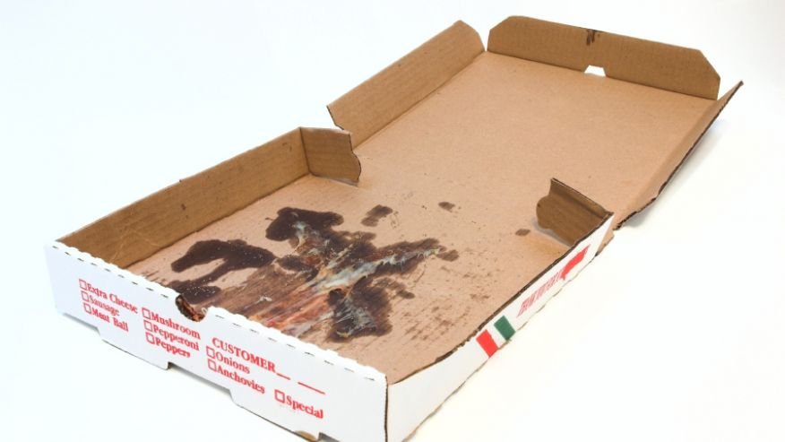 Image result for empty pizza box