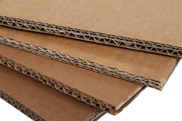 Corrugated cardboard is often made of recycled cardboard. Source: packaginginnovation.com