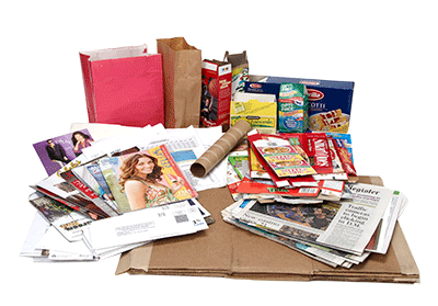 Recycle your mixed paper and boxboard!