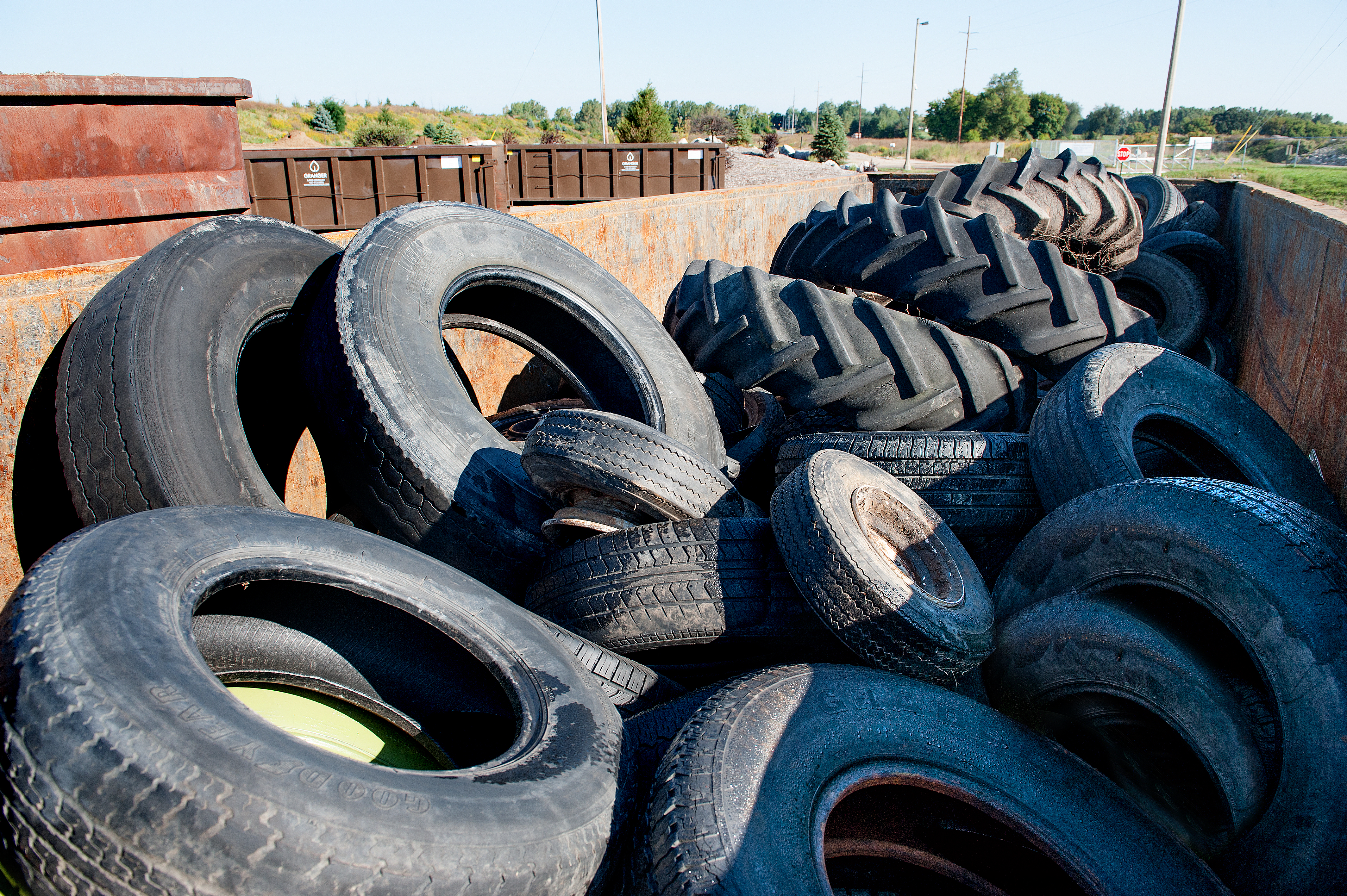 How to Get Rid of Old Tires | Granger
