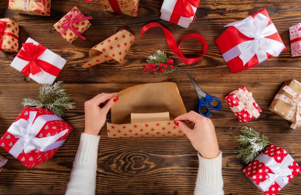 DO. Recycle the tubes from the inside of your wrapping paper.