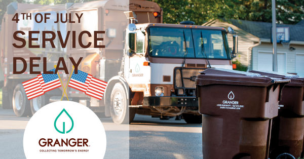 Granger Holiday Closures and Delays – Fourth of July