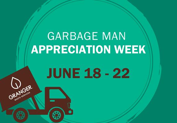 Granger Celebrates Garbage Men and Women