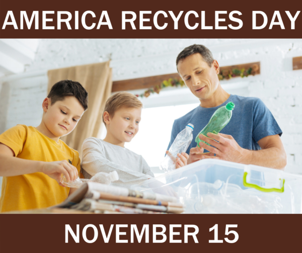 5 Ways to Celebrate America Recycles Day